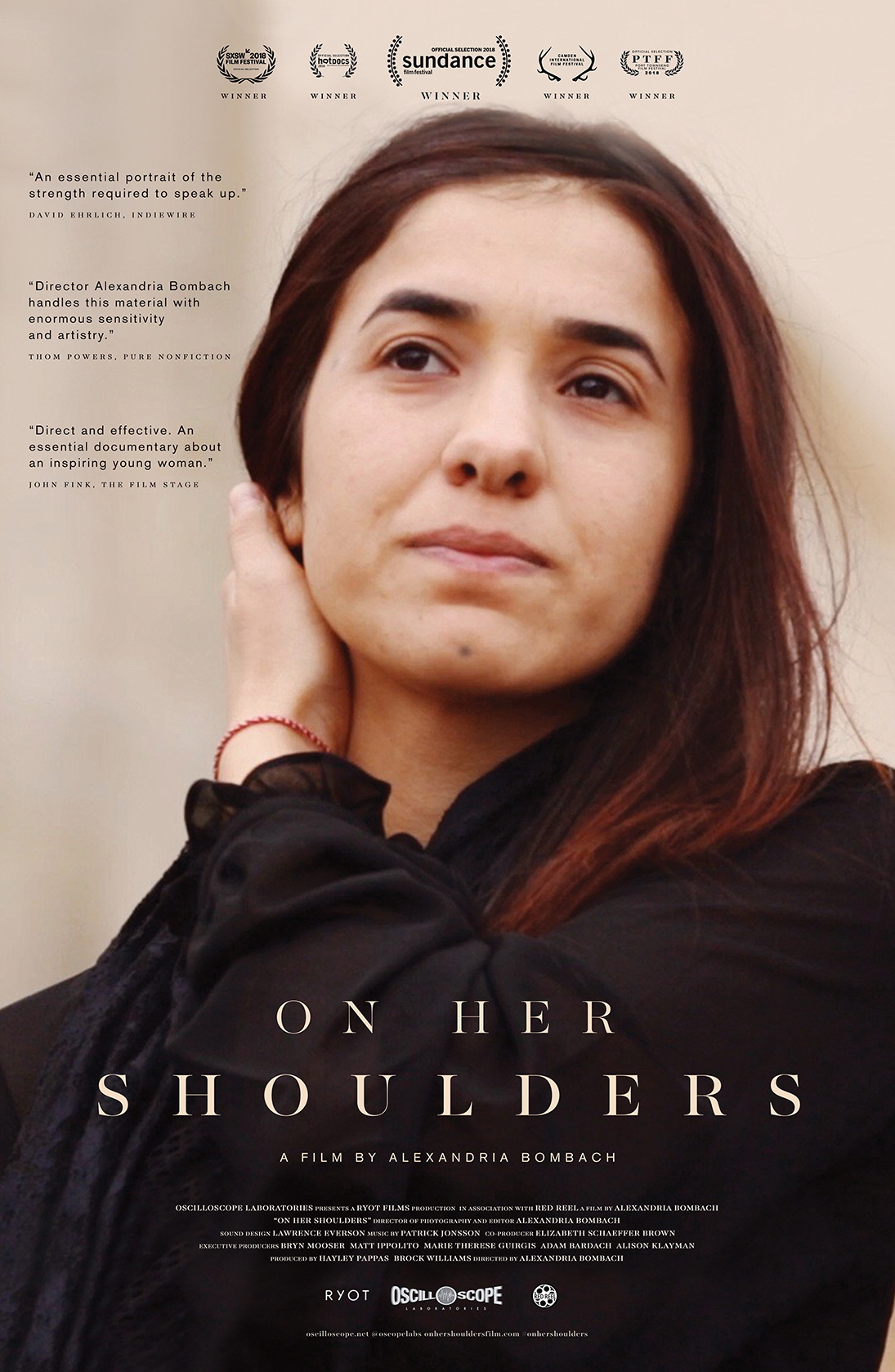 On Her Shoulders – Dec. 16th