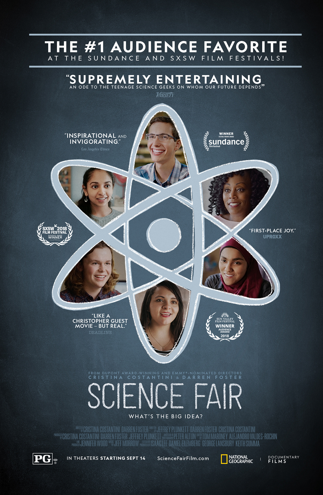 Science Fair – Oct. 7th